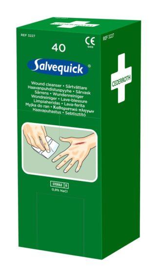 Salvequick Haavapyyhe, 40 kpl