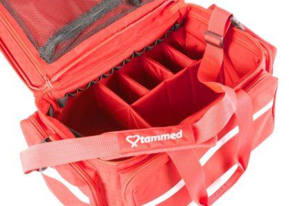 Tammed ensihoitolaukku punainen