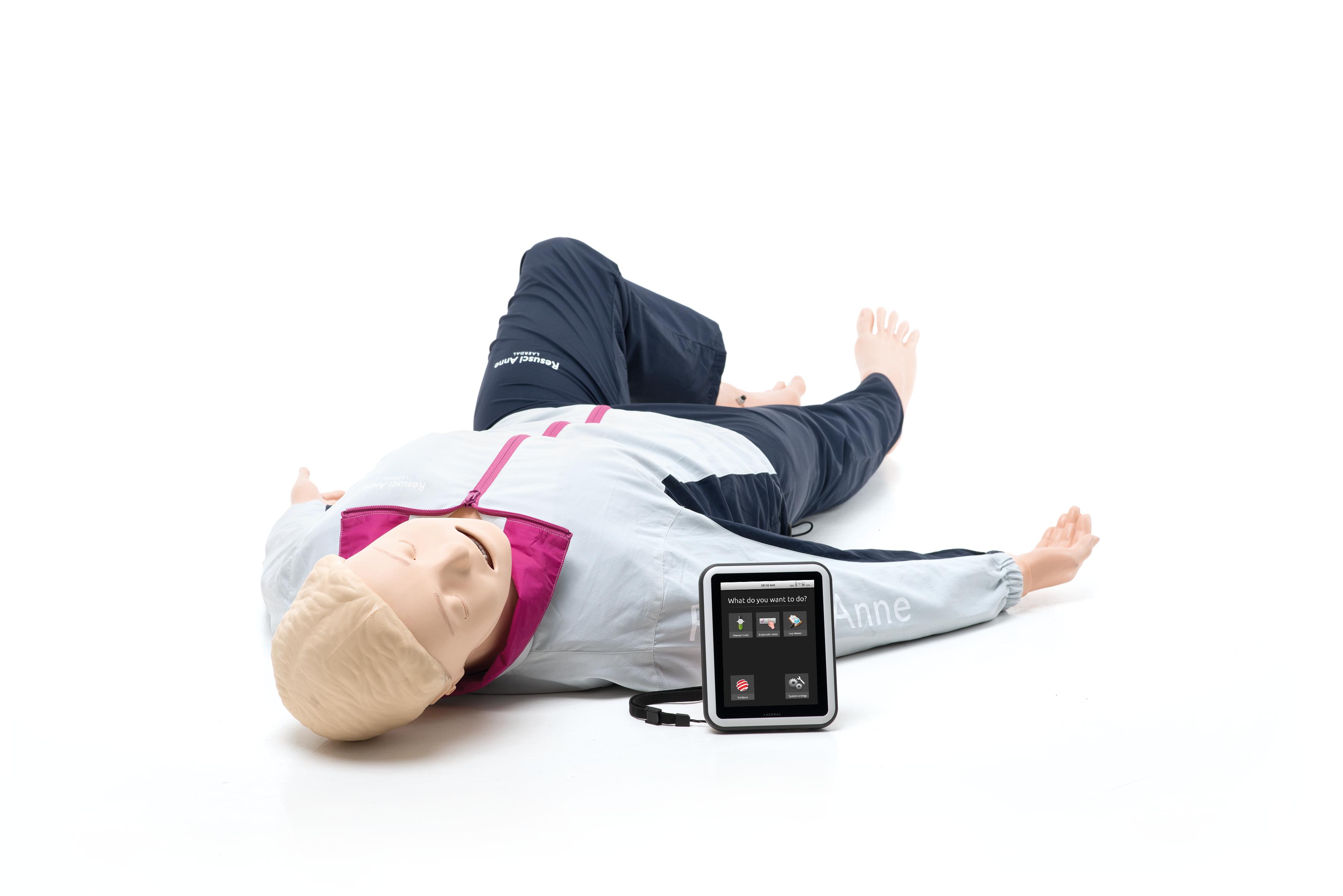 Resusci Anne QCPR AED AW SimPadilla