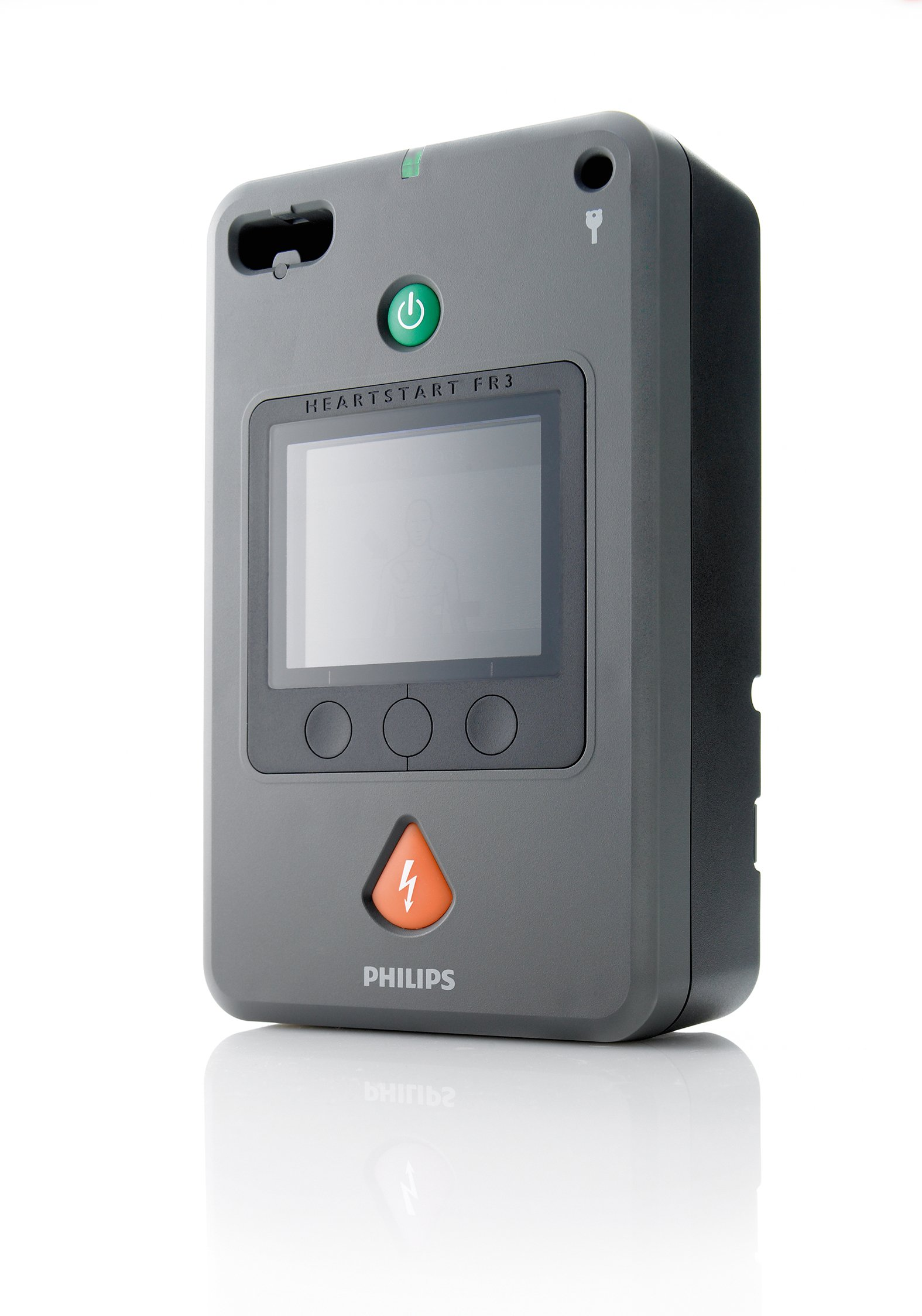 HeartStart FR3 defibrillaattori ja varaosat