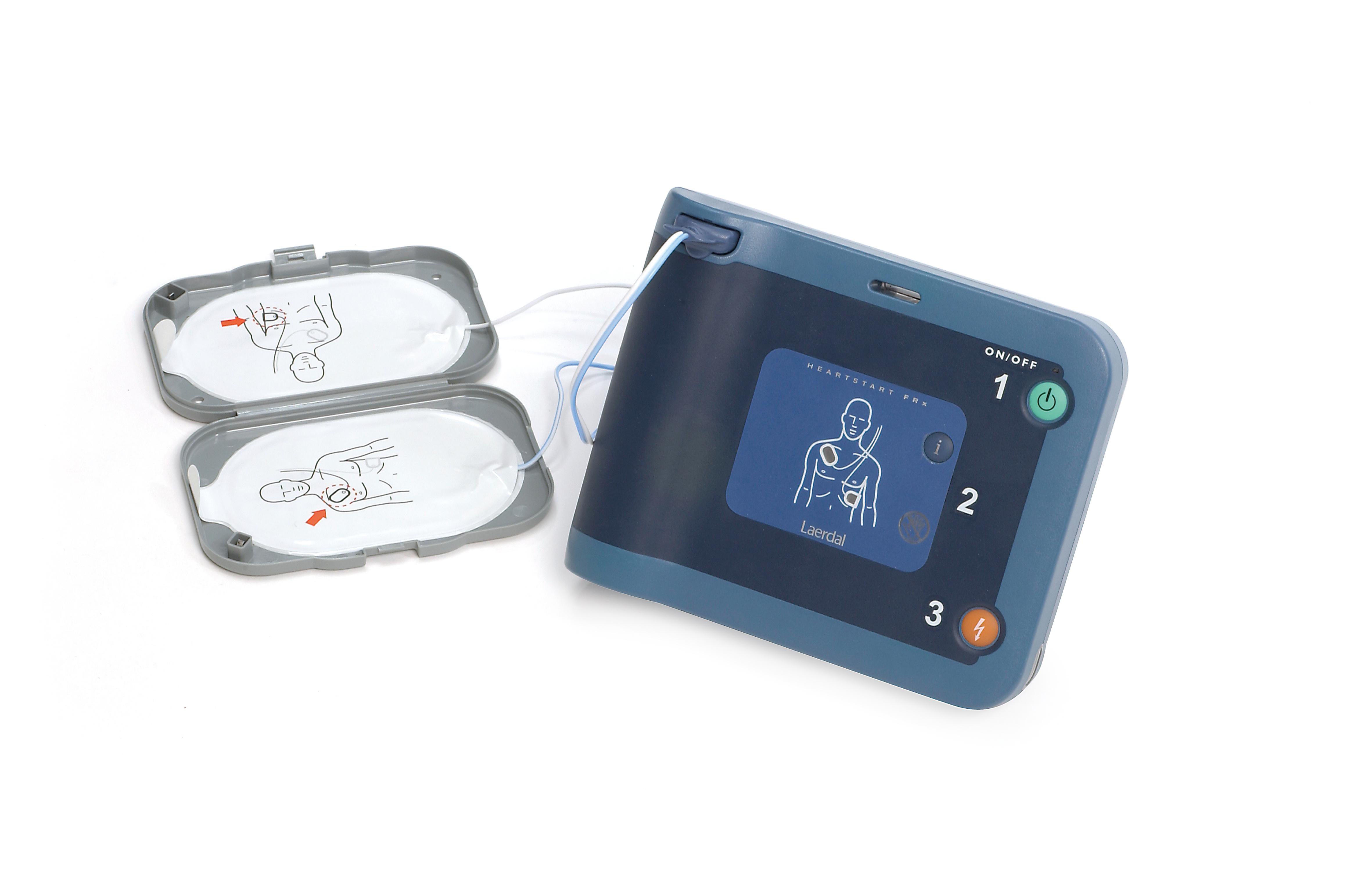 HeartStart FRx defibrillaattori ja varaosat