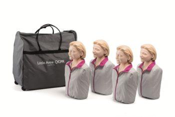 Little Anne QCPR Laerdal elvytysnukke 4:n pakkaus