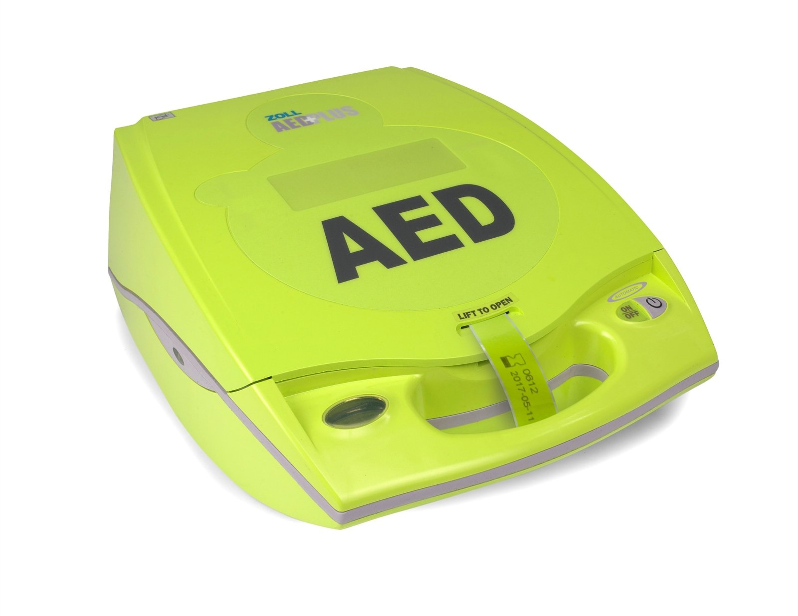 ZOLL AED PLUS defibrillaattori ja varaosat