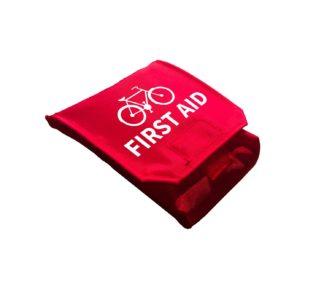 Pyöräilijän ensiapupakkaus