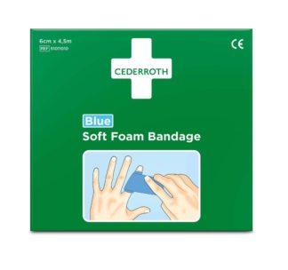 Soft Foam Bandage 6 cm x 4,5 M