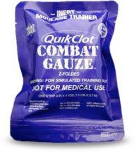 QuikClot combat gauze trainer