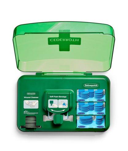 Haavanhoitoautomaatti Blue elintarvikelaastareilla