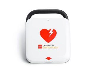 Lifepak CR2 defibrillaattori ja varaosat