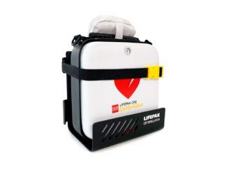 Lifepak CR 2 defibrillaattori ja varaosat