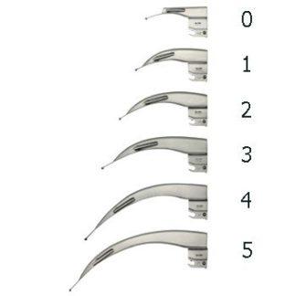 Laryngoskooppi pää